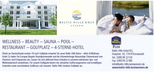 golfclub baltic hills sonneninsel usedom mecklenburg vp. Black Bedroom Furniture Sets. Home Design Ideas