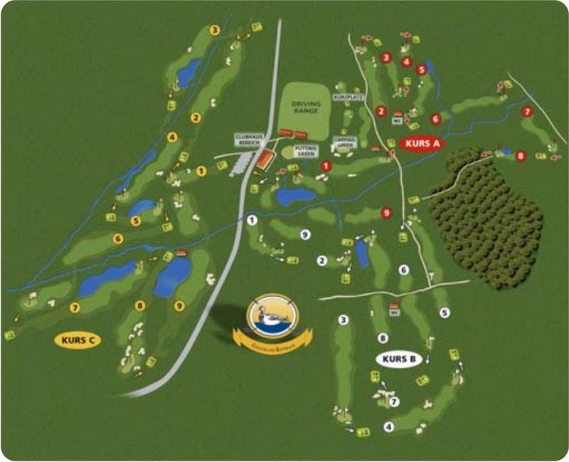 golfanlage rottbach deutschland bayern german golf guide. Black Bedroom Furniture Sets. Home Design Ideas